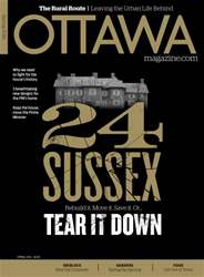 Ottawa Magazine issue SPRING 2016