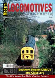 Modern Locomotives Illustrated issue Issue 218