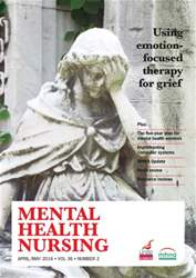 Mental Health Nursing issue April 2016
