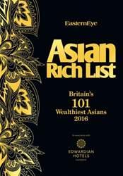 Asian Rich List 2016 issue Asian Rich List 2016