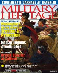 Military Heritage issue March 2016