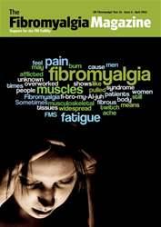 Fibromyalgia Magazine April 2016 issue Fibromyalgia Magazine April 2016