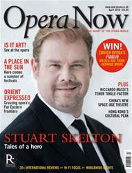 Opera Now issue April 2016