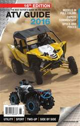 ATV Trail Rider issue ATV Guide 2016