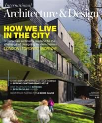 Int. Architecture & Design issue Spring 2016