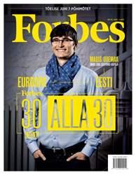 Forbes Estonia issue Forbes Estonia #38