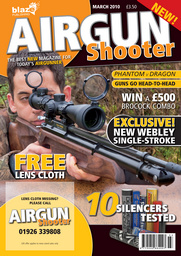 Airgun Shooter issue March 2010