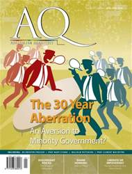 Australian Quarterly 87.2 issue Australian Quarterly 87.2