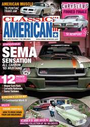 Classic American Magazine issue 306 October 2016