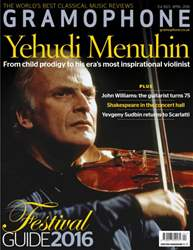 Gramophone issue April 2016