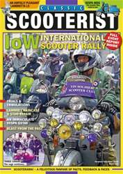 Classic Scooterist issue Oct - Nov 2016