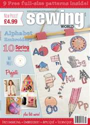 Sewing World issue May 2016