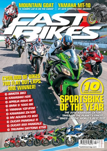 Fast Bikes issue 315 July 2016