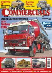 Heritage Commercials Magazine issue September 2016