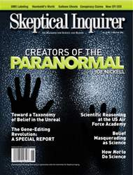Skeptical Inquirer issue May June 2016