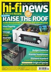 Hi-Fi News issue May 2016
