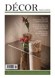 Décor Magazine issue Decor Spring 2016