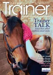 European Trainer Magazine - horse racing issue Issue 53 - April 2016-June 2016