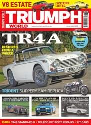 Triumph World issue No. 160 TR4A