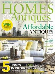 Homes & Antiques Magazine issue May 2016