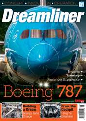 Airliner World issue Boeing 787 Dreamliner