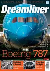 Airliner World issue Boeing 787 Dreamliner