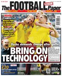 The Football League Paper issue 3rd April 2016