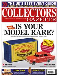 Collectors Gazette issue May 2016