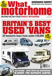 What Motorhome issue May 2016