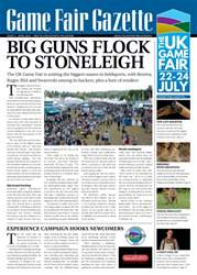 Sporting Rifle issue Game Fair Gazette Issue 3