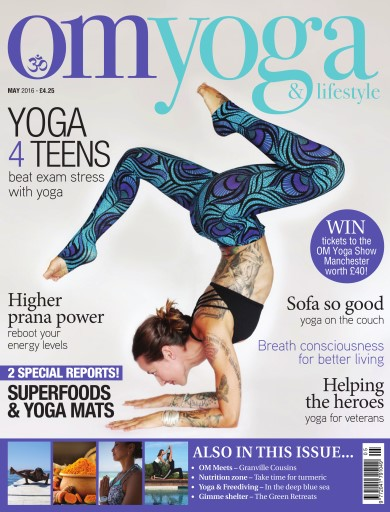 OM Yoga UK Magazine Preview
