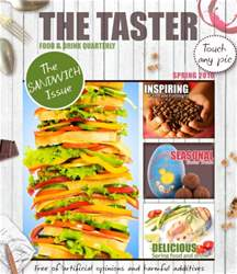 The Taster Magazine issue Spring 2016