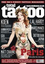 Total Tattoo issue Paris Issue
