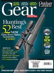 Outdoor Canada issue Gear Spec 2016