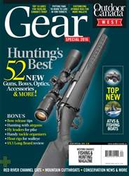 Outdoor Canada issue Gear West Spec 2016
