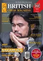 British Chess Magazine issue March 2016