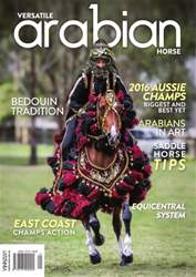 Australian Arabian Horse News issue Versatile Arabian Horse March 2016