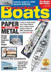 Model Boats issue May 2016
