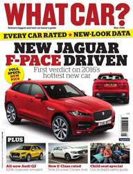 What Car Magazine issue May 2016
