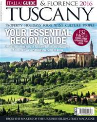 Italia! Guide issue Tuscany & Florence 2016