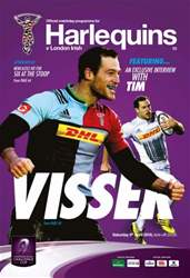Harlequins issue Harlequins v London Irish (European Quarter-Final)