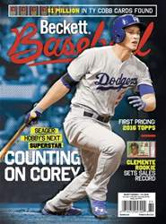 Beckett Baseball issue May 2016