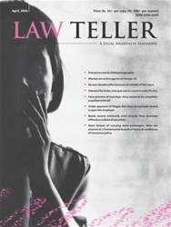 Lawteller – A Legal Awareness Magazine issue April 2016