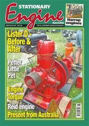 Stationary Engine issue No. 507 Lister D - Before & After