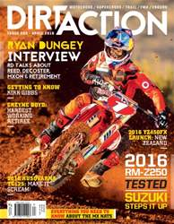 Dirt Action issue Issue#202 Apr 2016