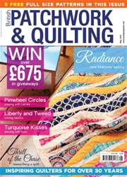Patchwork and Quilting issue May 2016