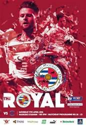 Reading FC Official Programmes issue 26 v Birmingham City (15-16)