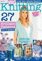 Knitting & Crochet issue May 2016