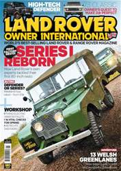 Land Rover Owner issue May 2016