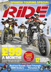 Ride issue June 2016